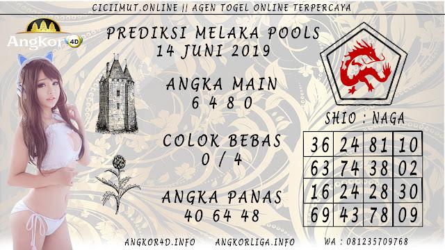 PREDIKSI MELAKA POOLS 14 JUNI 2019