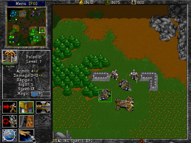 Warcraft 2 Paladin Screenshot