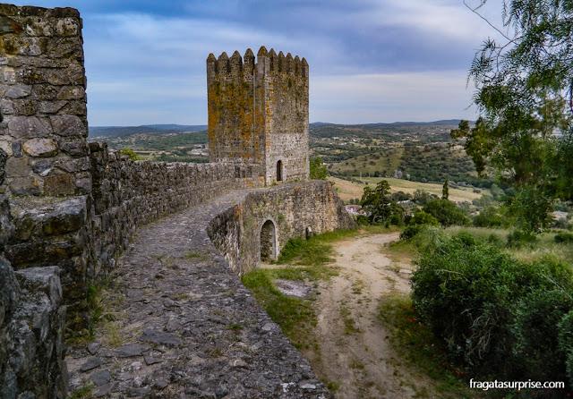 Torre da Má Hora, Castelo de Montemor-o-Novo, Portugal