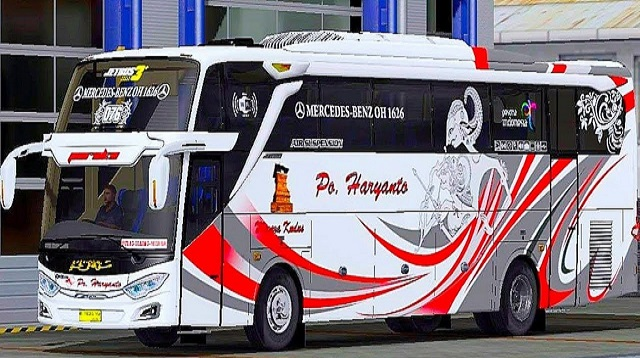 Livery Bussid PO Haryanto
