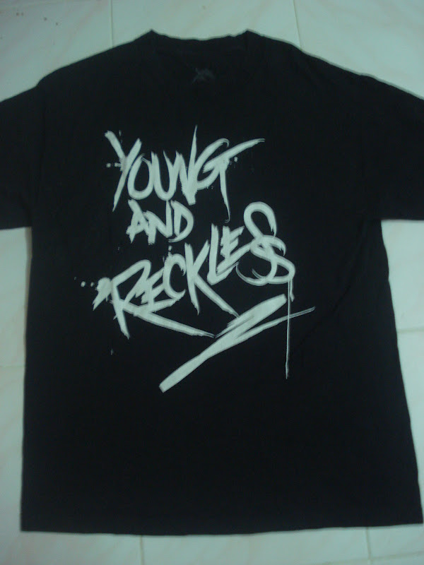 streetwearhouse: ''YOUNG AND RECKLESS BRAND '' shirt (SOLD)