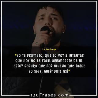 Vocalista del grupo La Sandonga grupo uruguayo Paulo Farias