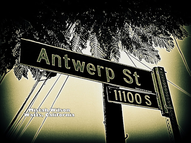 Antwerp Street, Watts, California by Mistah Wilson