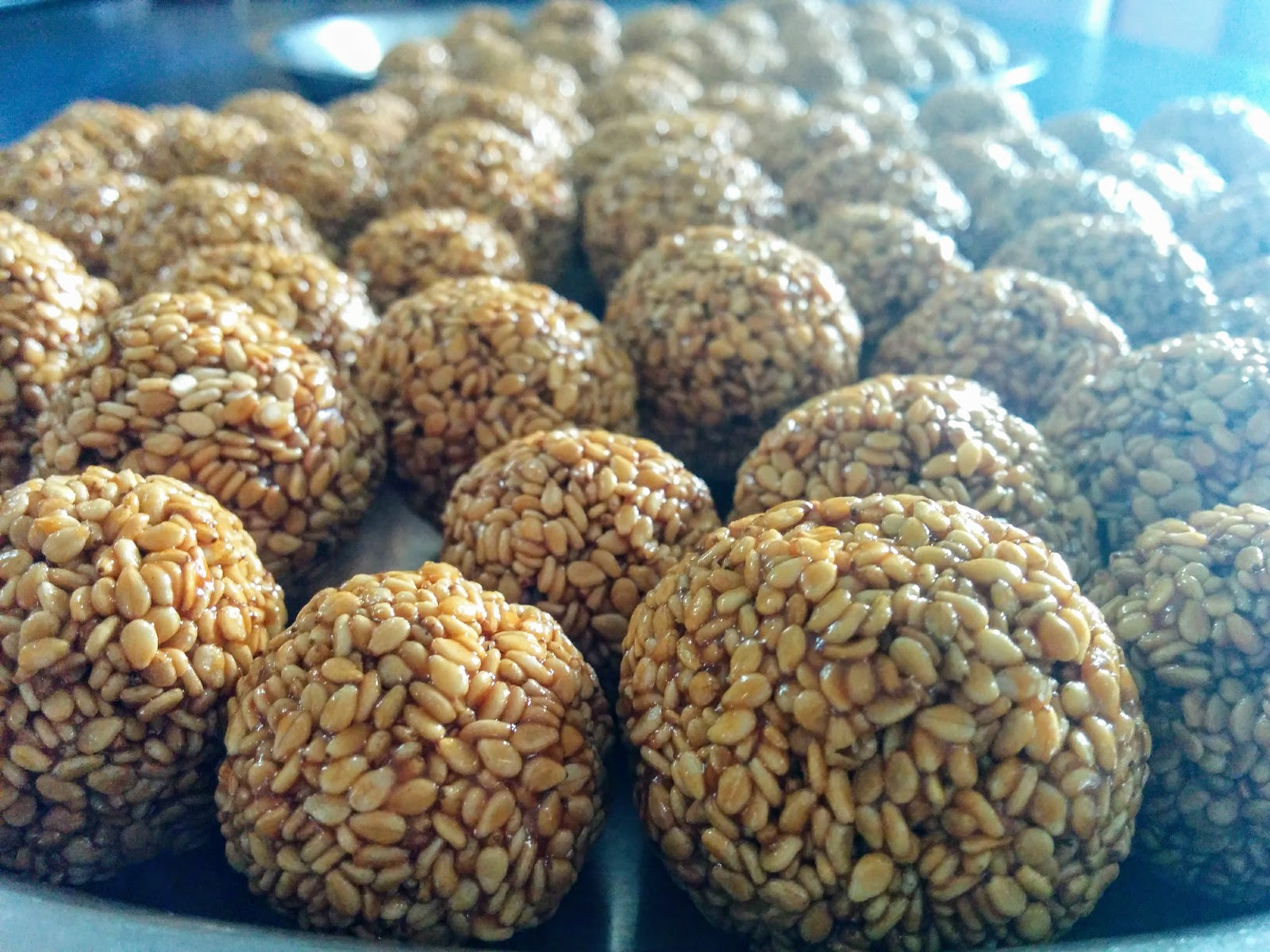 Sesame Seed Candies (Til ka laddu)