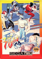 Portada Final Fight CD Sega Mega-CD