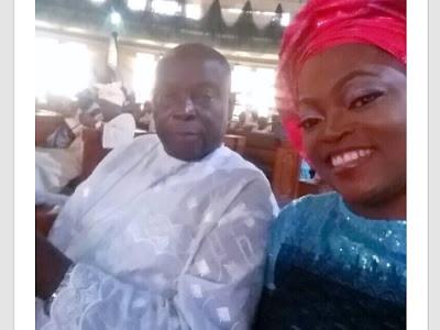 Funke Akindele loses dad.