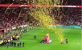 Final de la Copa del Rey 2018.