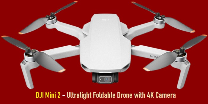 DJI Mini 2 – Ultralight Foldable Drone with 4K Camera