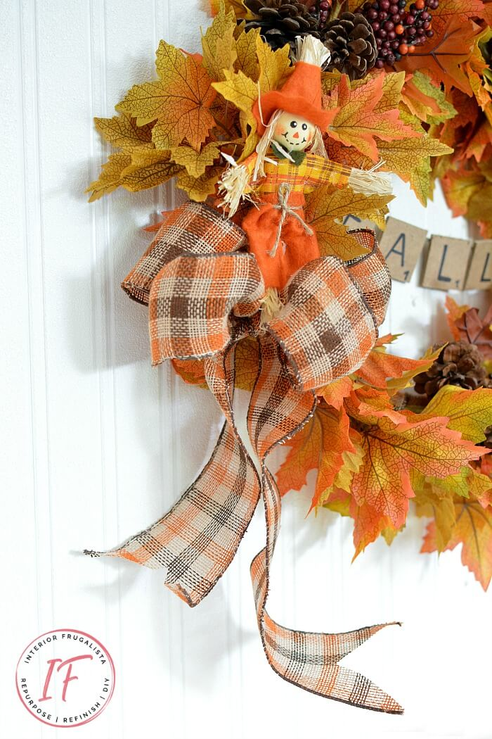 Easy Peasy DIY Fall Wreath