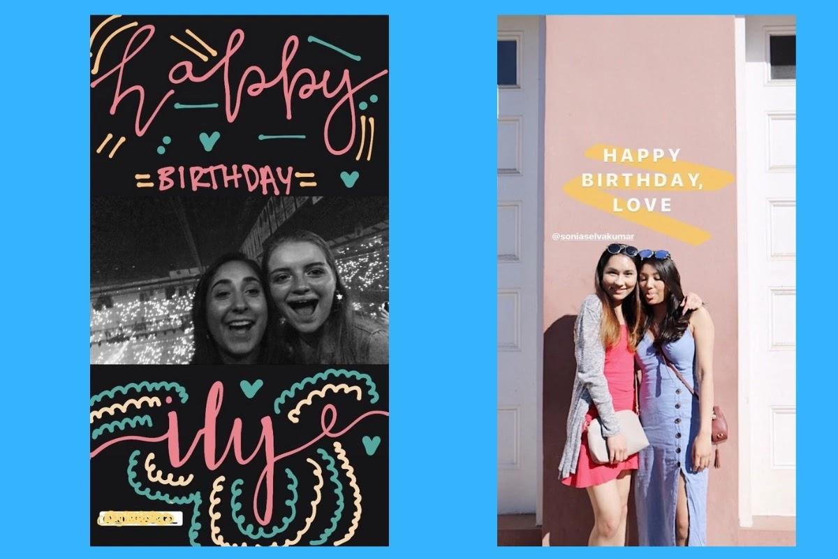 These 20 Instagram Birthday Story Ideas Will Impress You