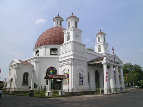 Wisata Kota Lama Gereja Blenduk Semarang