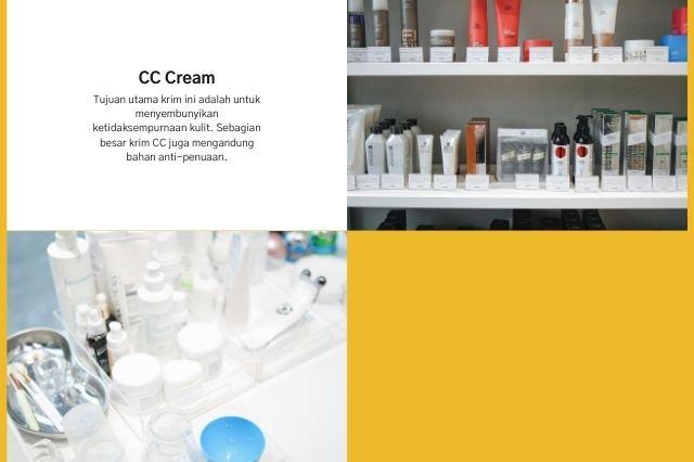 pengertian dan fungsi cc cream