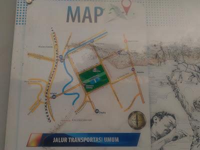 map lapangan banteng jakarta
