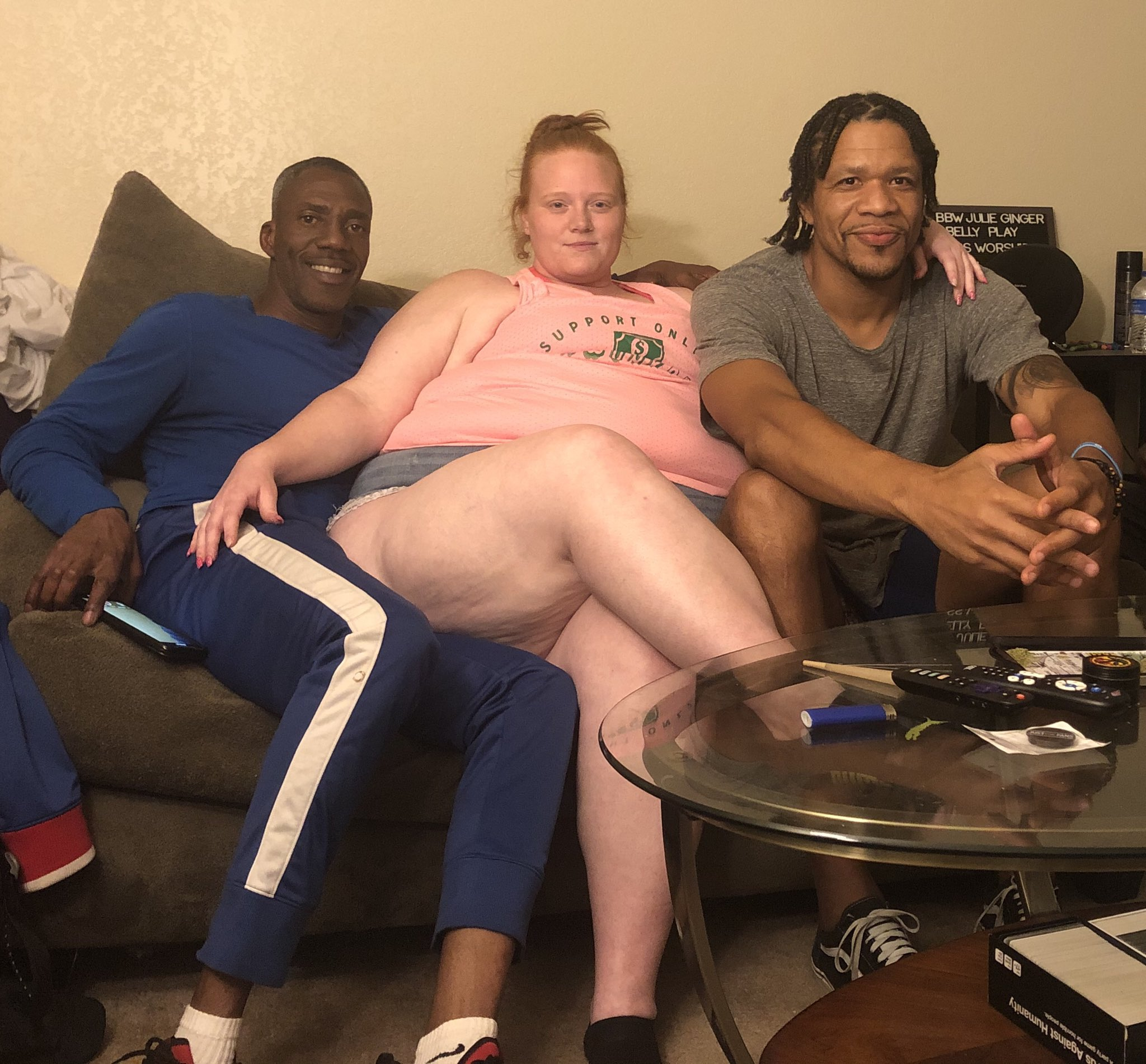 macho negro con su mujer