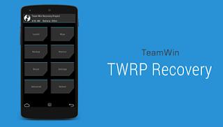 Cara Install TWRP Recovery di Android Tanpa PC dengan Mudah dan cepat