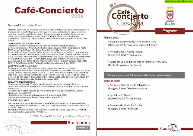 Café Concierto con Samuel Labrador