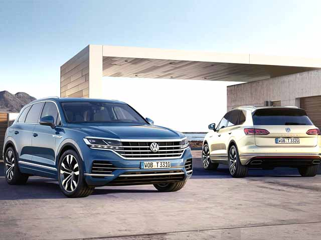 The Volkswagen Touareg 2018 arrives in the Spanish market in June