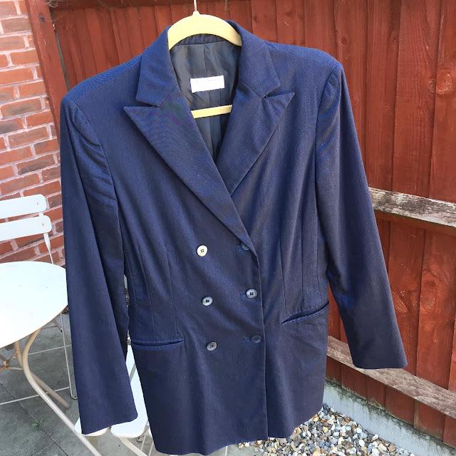 Navy Vintage Jacket