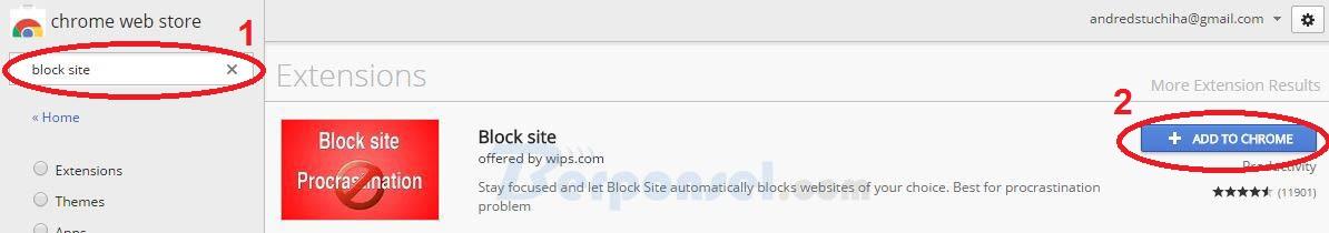 Cara Memblokir Situs di Browser Chrome dengan Block site