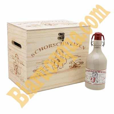 Thùng bia Đức Schorsch Weizen 6 chai