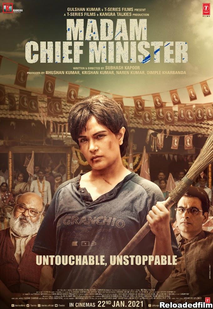 Madam Chief Minister 2021 Hindi Movie 480p 720p 1080p