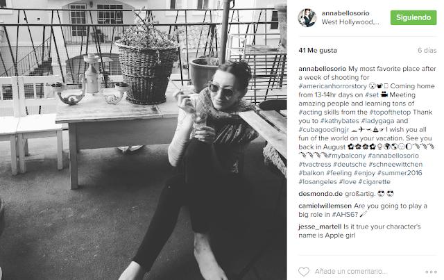 ¿Cuba Gooding Jr. y Annabell Osorio en la 6ª temporada de 'American Horror Story'?