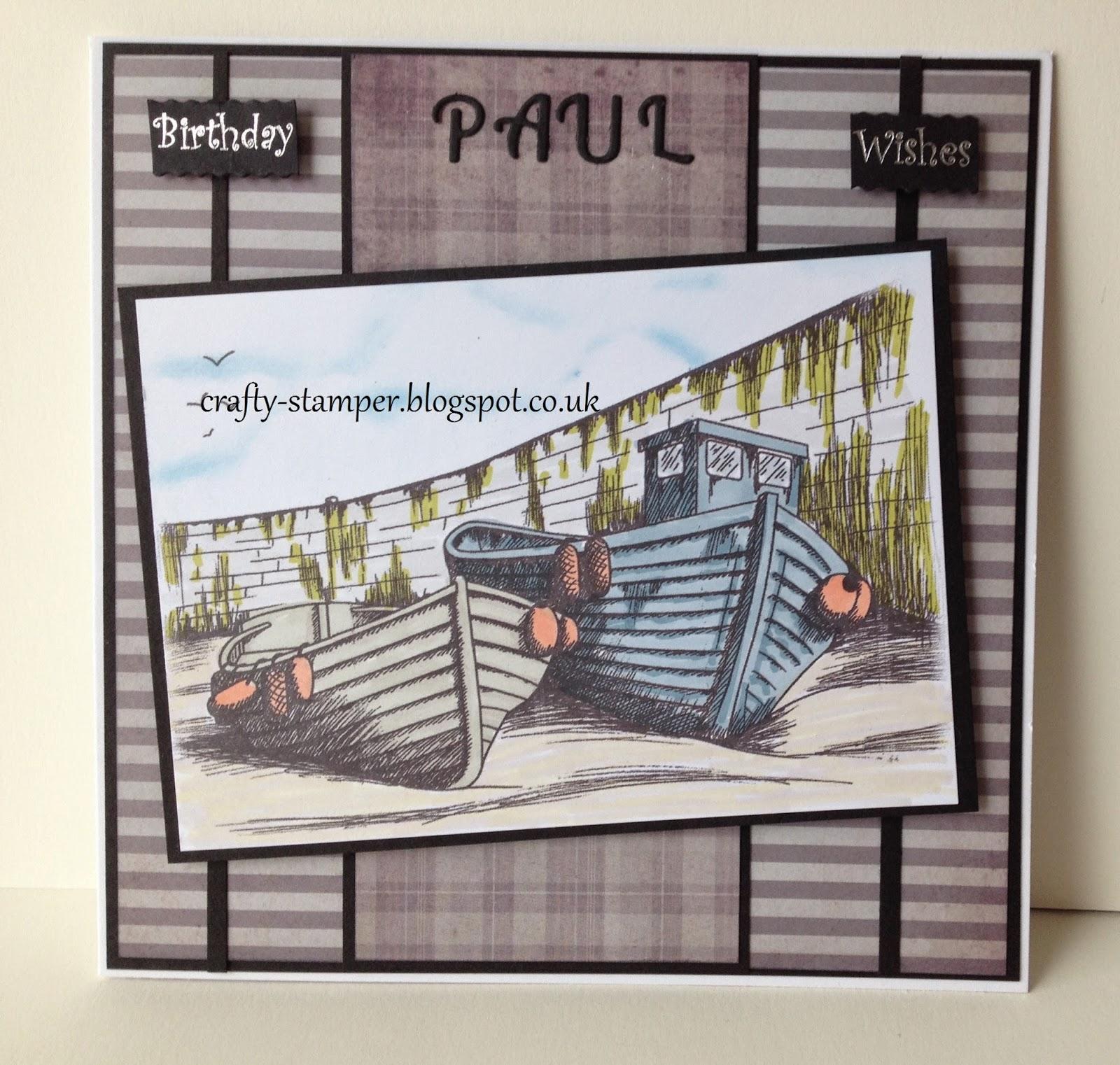 Crafty Stamper May 2014