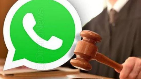 juiz manda whatsapp remover video autor