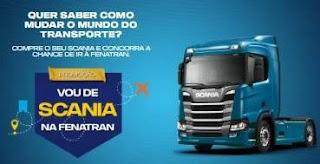 Promoção Vou de Scania Fenatran 2019 Pacote Viagem SP e Ingressos