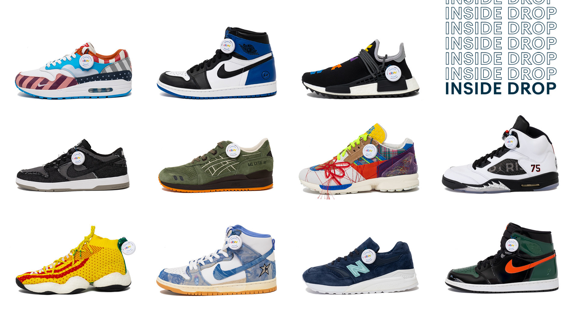 eBay Celebrates its Sneakerhead Community by Releasing a Collection of the Greatest Kicks Never Sold