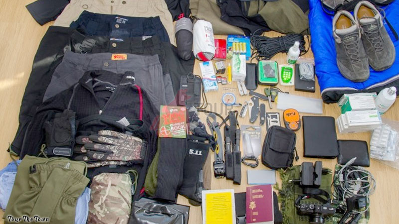 Viajar Sin Dinero Traer todos los materiales disponibles