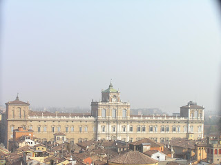 The Ducal Palace is a dominant feature of the Modena skyline
