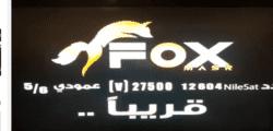 تردد قناة fox masr فوكس مصر