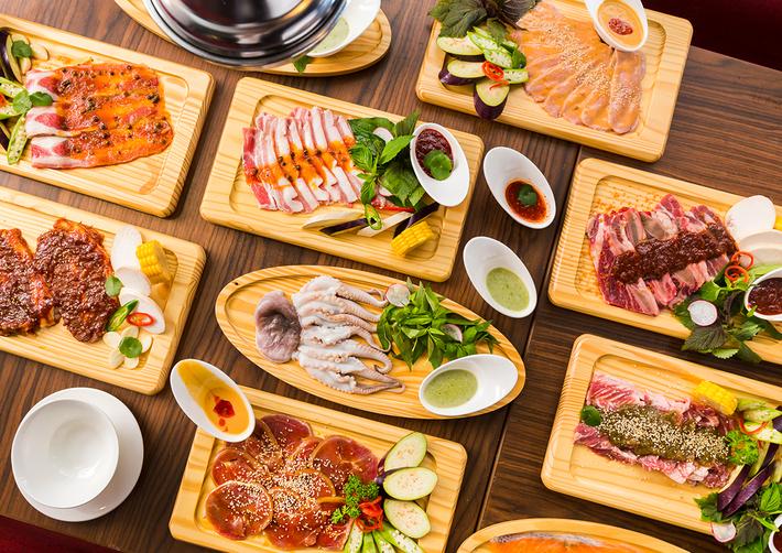Buffet Trưa Bò Mỹ, Hải Sản Tại Phố Đi Bộ Nguyễn Huệ Tại Nhà Hàng Sườn No.1