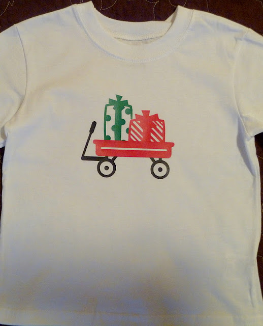 gifts01 Christmas Shirts with Iron-on Vinyl 6