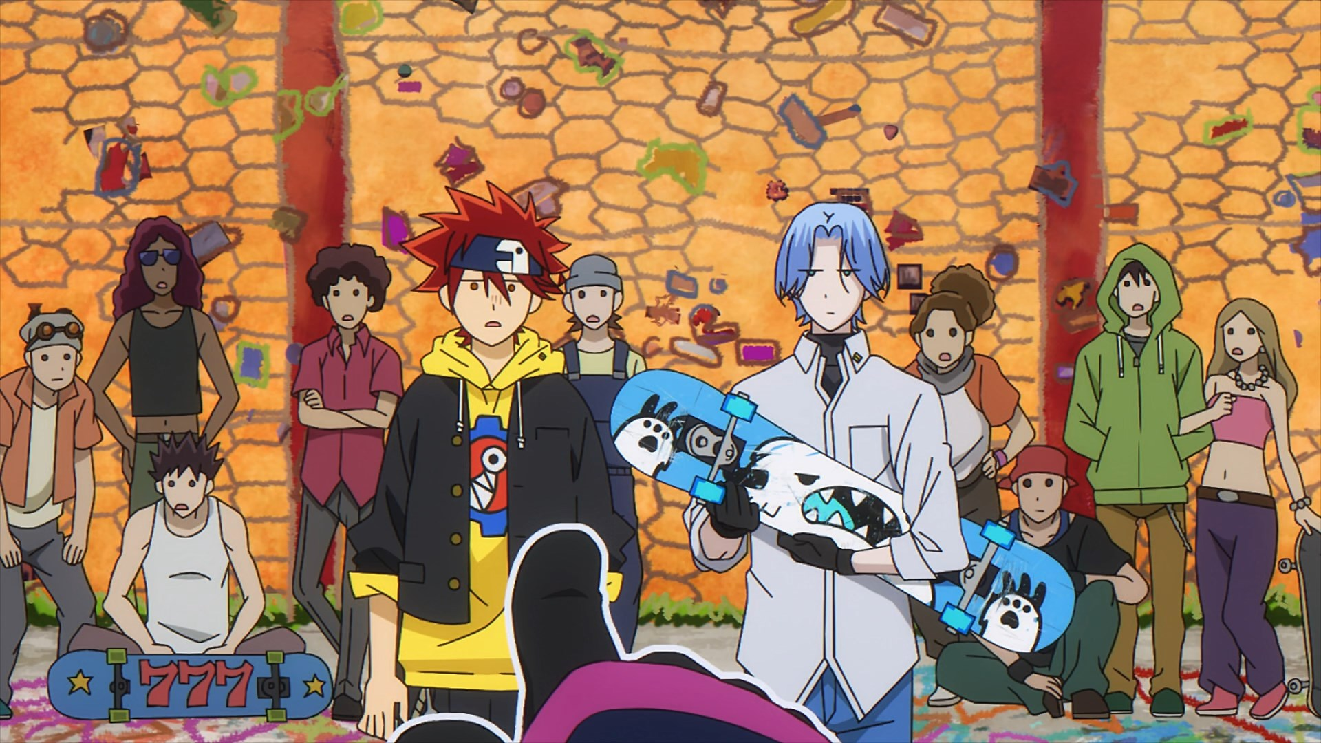 SK8 the Infinity Episode 03 Subtitle Indonesia
