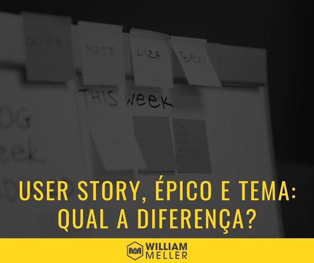 User Story, Épico e Tema – Qual a diferença?