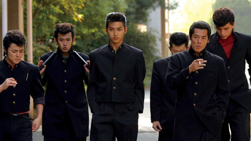 japan school fighting movie