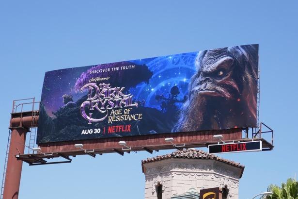 Dark Crystal Age of Resistance Netflix billboard