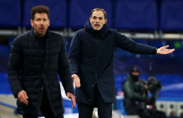 Thomas Tuchel barking orders as Chelsea dispatch Atletico Madrid in the Champions League