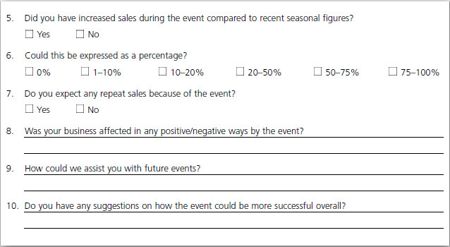 Assignment on Hospitality Contract and Event Management - how do you evaluate success
