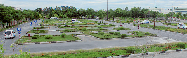Sân thi sát hạch lái xe Việt Thanh - Hưng Yên
