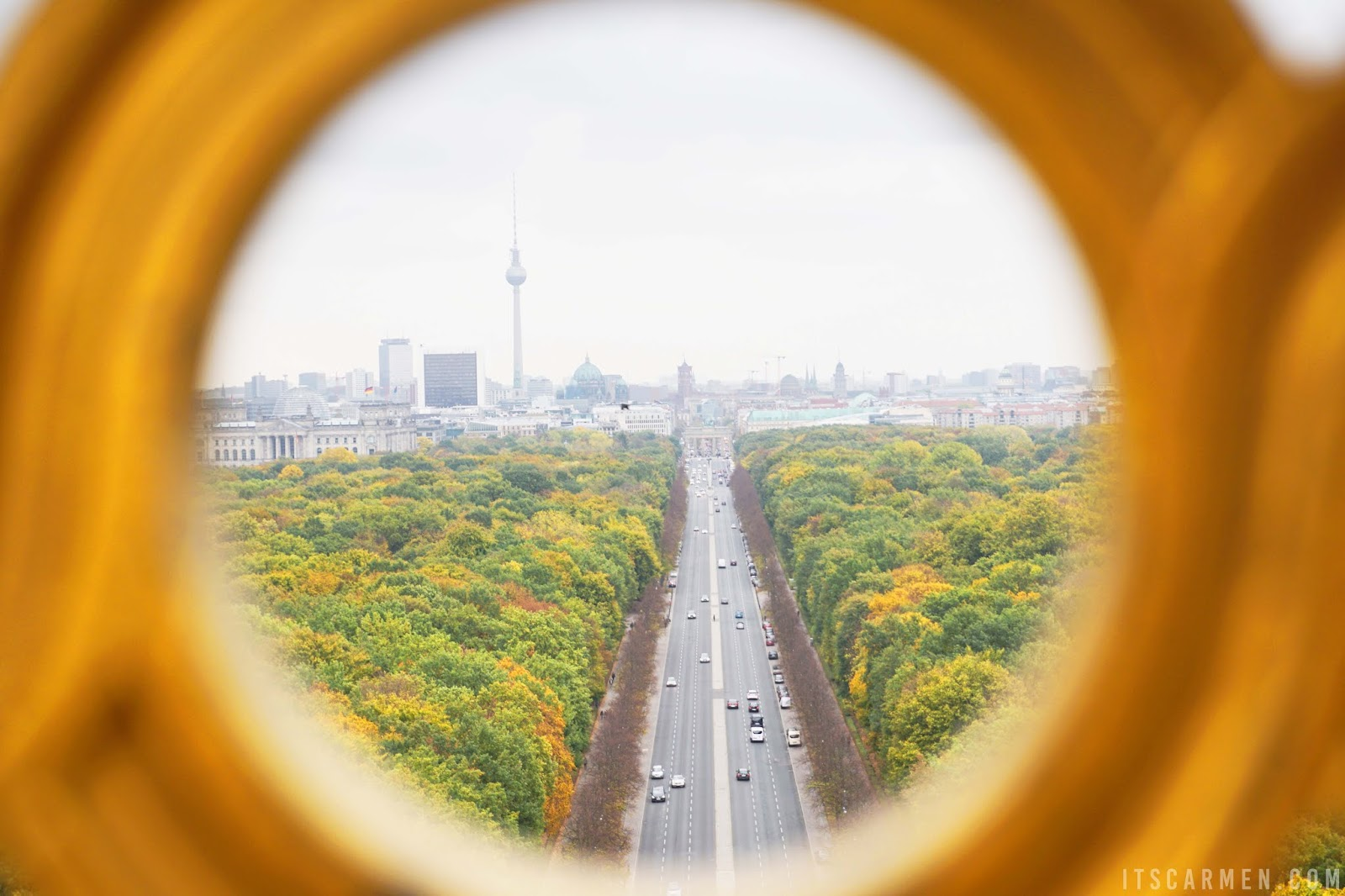 A view of the Tiergarten, What to Do in Berlin in 3 Days: Visiting Berlin, Germany