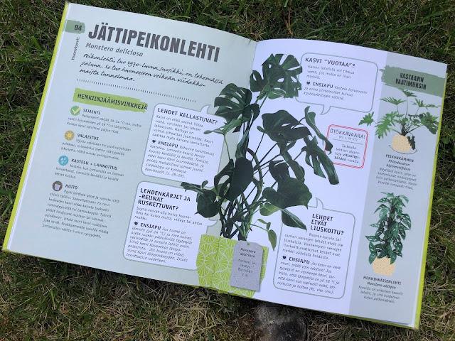 Huonekasvien henkiinjäämisopas -kirja
