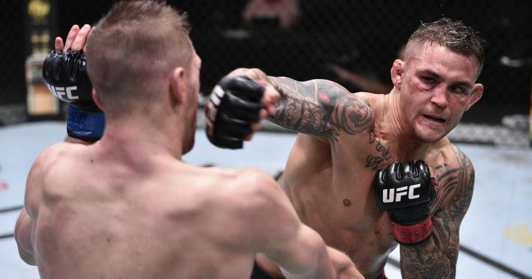 UFC On ESPN 12 Results - Dustin Poirier Edges Dan Hooker In Bloody Battle