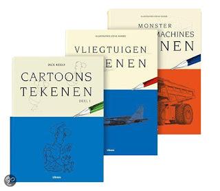 tekenboeken libero cartoon tekenen