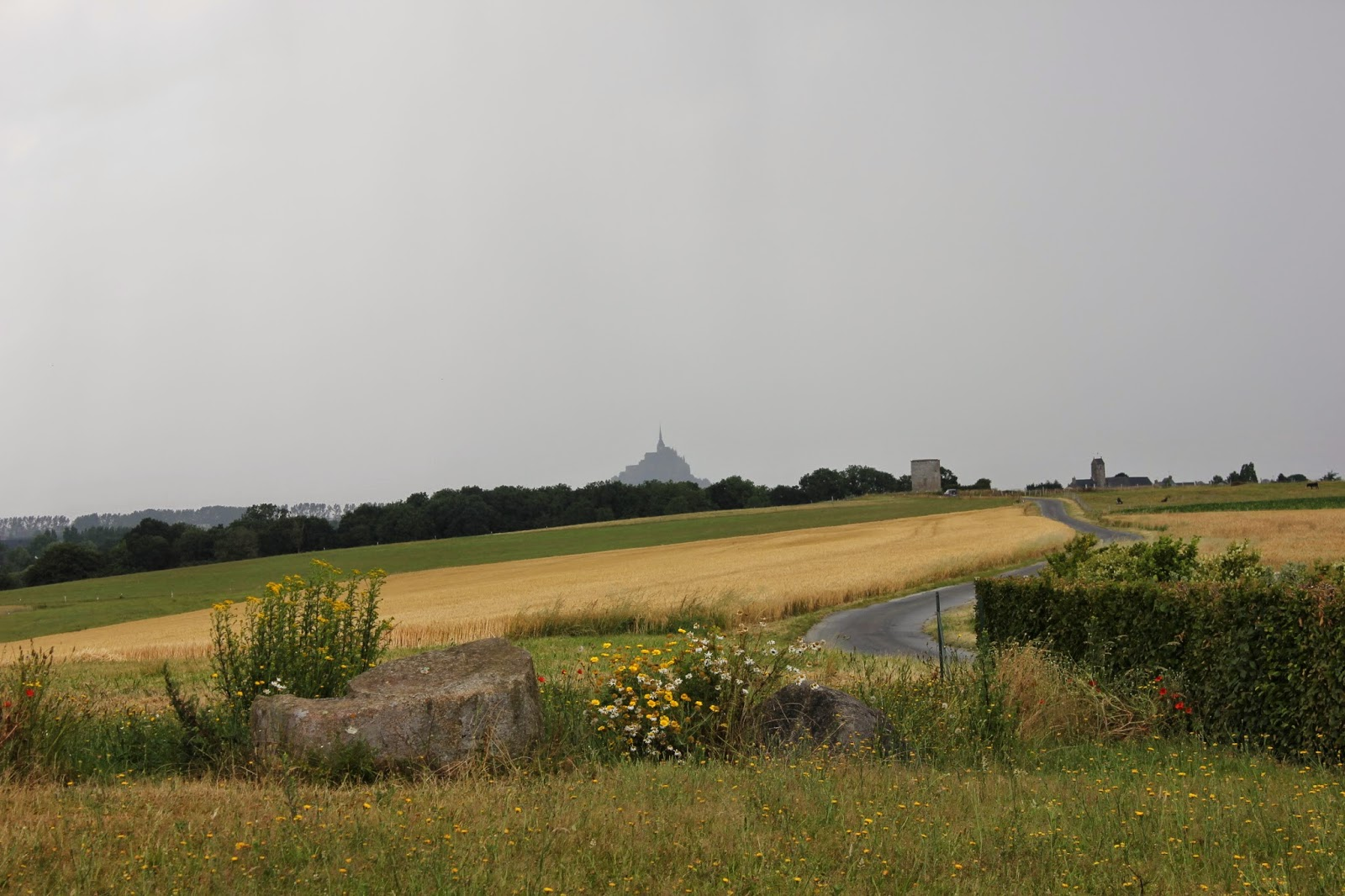 Mont Saint Michel from Le Moulin de Moidrey