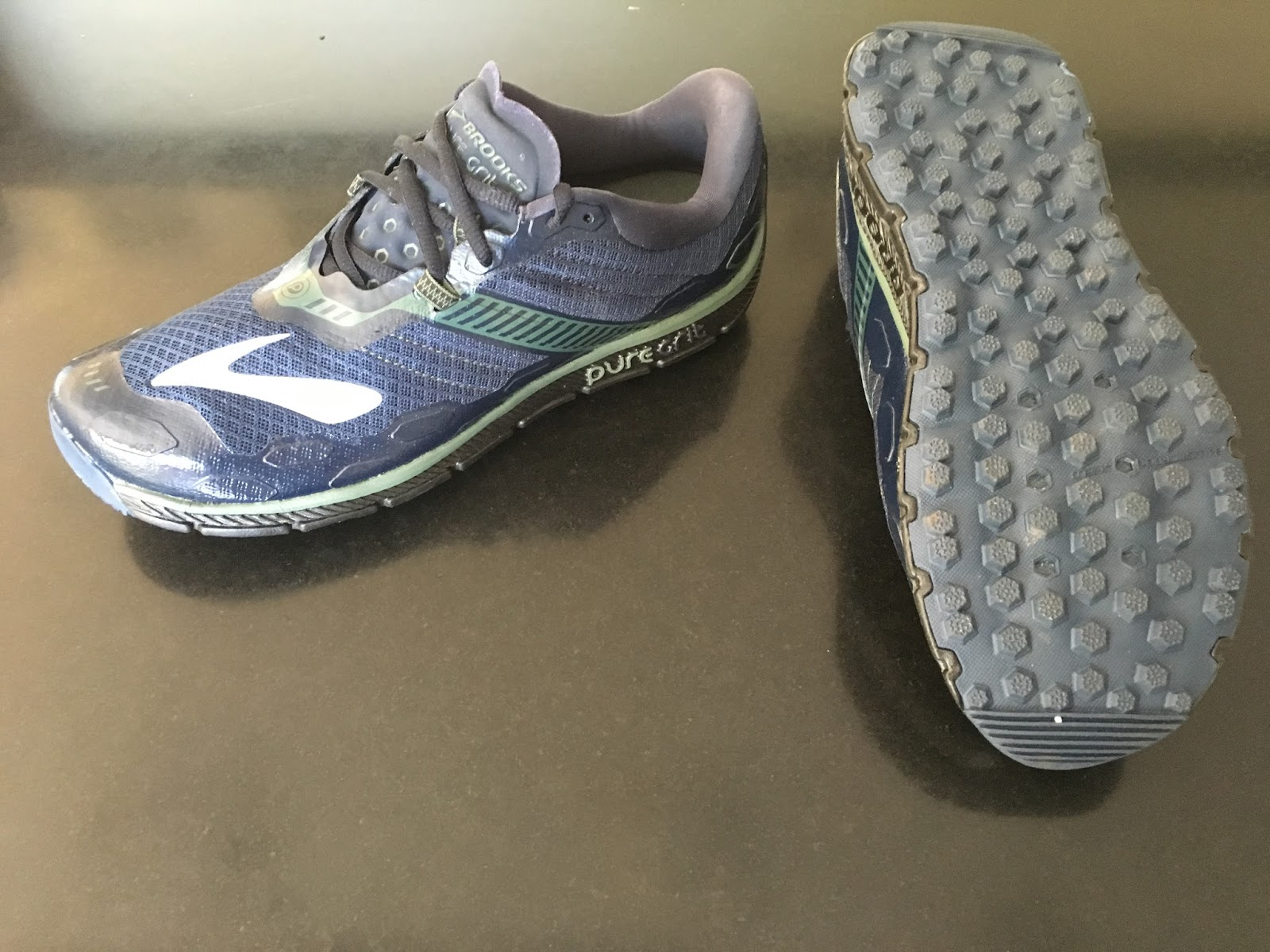detailed look 98ef4 be1c2 Road Trail Run: First Run Impressions Brooks PureGrit 5- The ...