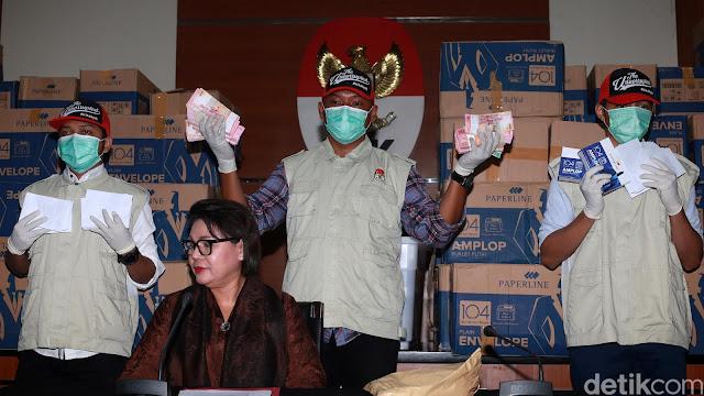 KPK Sudah Buka Amplop 'Serangan Fajar' Bowo Sidik tapi Tak Semua