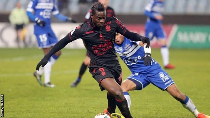 Mario Balotelli: Nice striker makes Bastia racist abuse claim